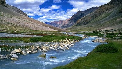 picturesque view of Nilagrad River
