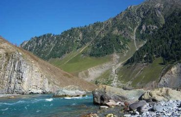 Scenic View of Nilagrad River