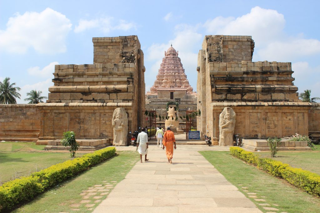 Gangaikonda Cholapuram Temple - Entrance