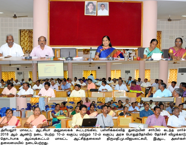 District Collector Presented award for Teachers