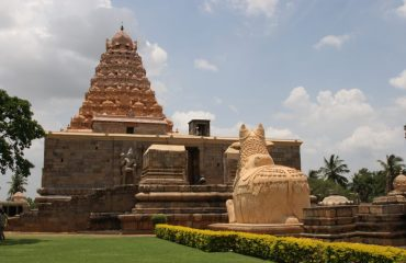 Gangaikonda Cholapuram Temple - Front view