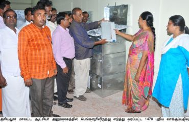 New voting machines arrived