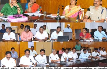 All Party meeting held regarding Election Model Code of Conduct