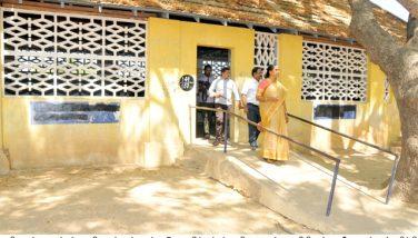 District Election Officer visited sensitive booths .