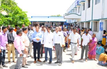 District Collector inspected Government District Head Quarters Hospital