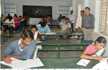 District Collector visited TNPSC Group -IV Exam centre