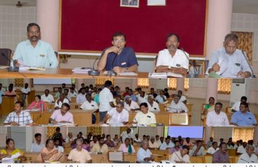 Agricultural Meeting held regarding importance of Palm trees