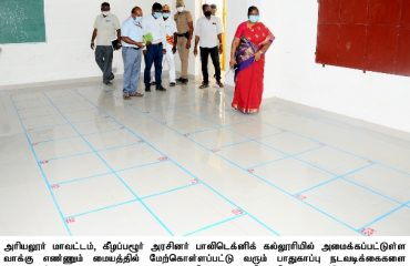 Counting Center Inspection