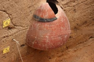 Keezhadi Excavation old pot