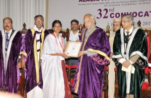Alagappa university convocation image