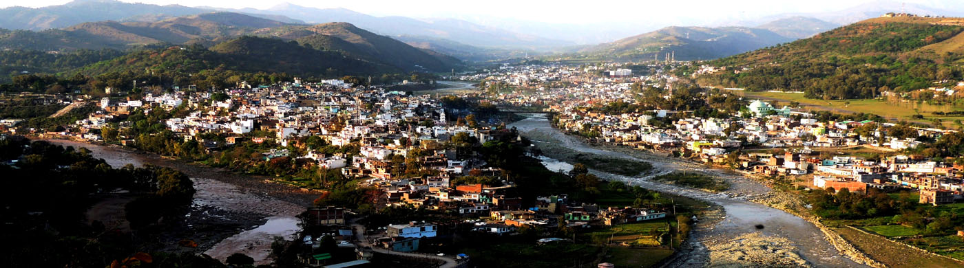 View of Rajouri Town