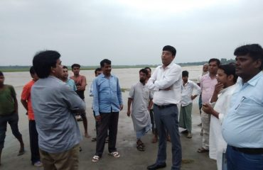 DM and DDC Inspecting Flood