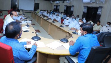 30-9-2021 DIST.COLLECTOR REVIEW MEETING WITH RICE MILLERS