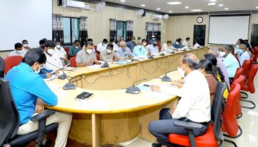 DIST COLLECTOR REVIEW MEETING ON LAND ACQUISITION