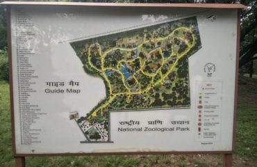 National Zoological Park Map