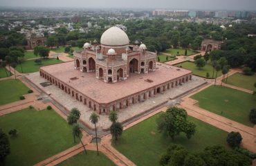 HUMAYUN TOMB OPEN VIEW
