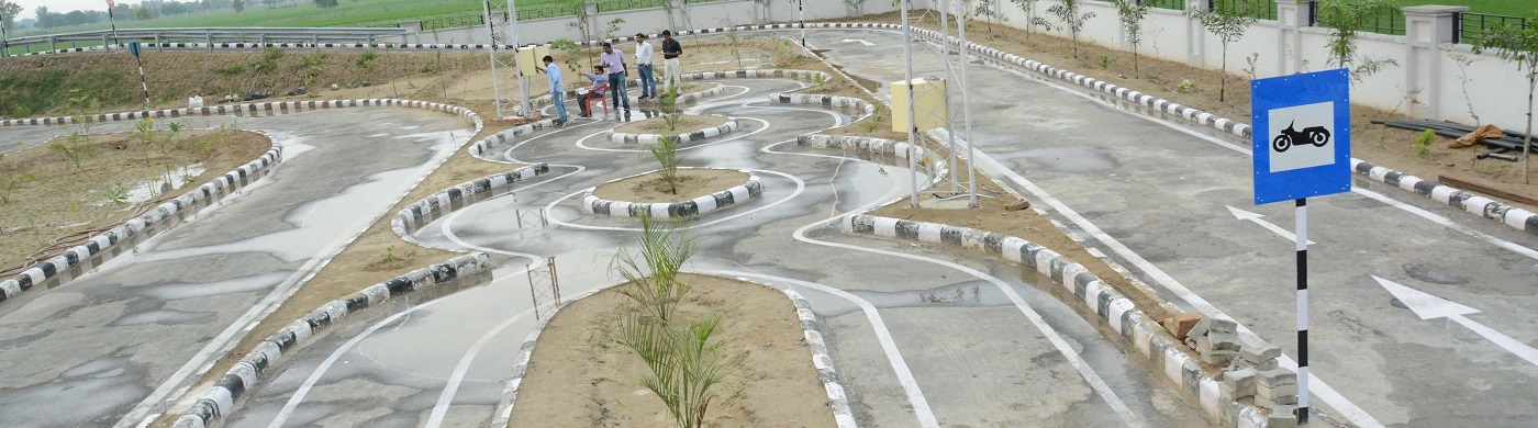 automated driving test track bathinda