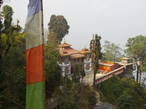 View over_ Bhutia Busty Monastery Darjeeling