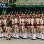 Police _parade during Republic Day