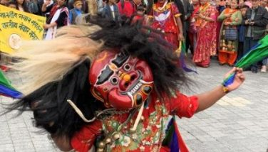 Fulpati and lakhe dances