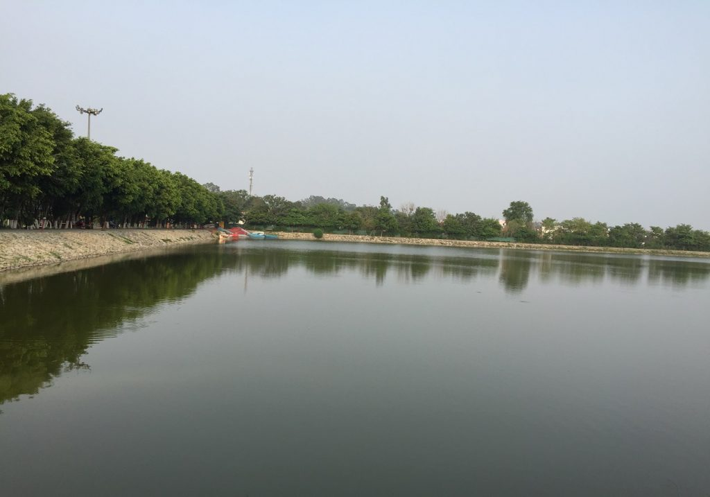 lake_paradise _rudrapur_lake