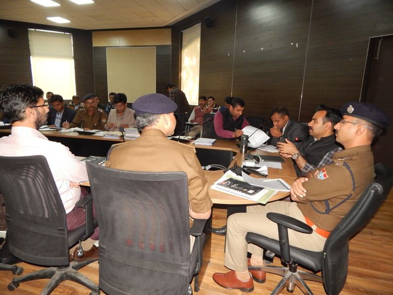 Meeting of ARO and Police Jurisdiction-Election 2019