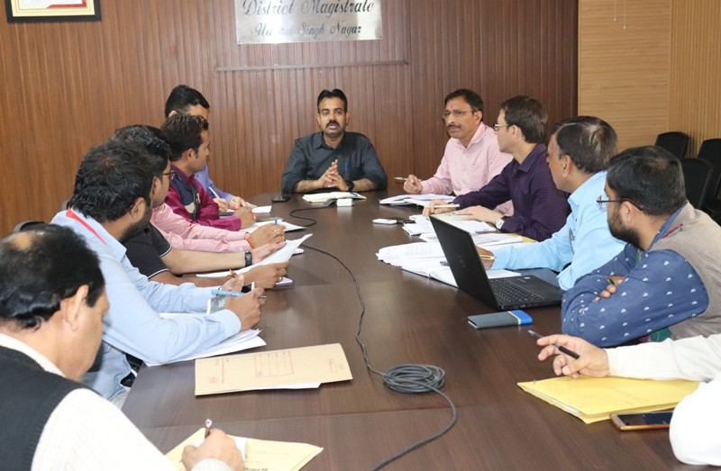 Meeting of BSNL officials and all mobile service providers