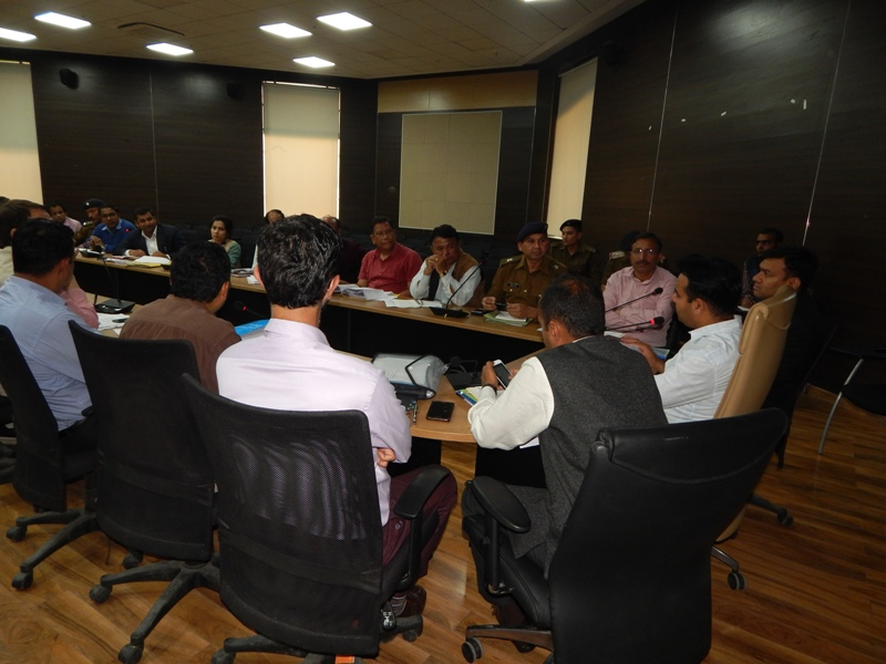 Meeting of Nodal Officers appointed for election work