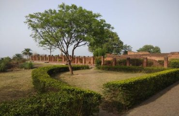 Right view of Ancient Govishan fort Kashipur