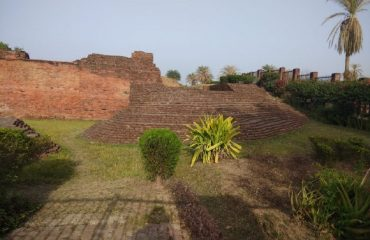Front view of Ancient Govishan fort Kashipur