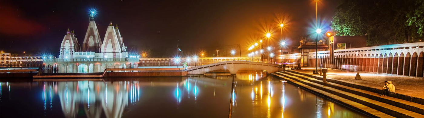 Braham Sarovar Night View