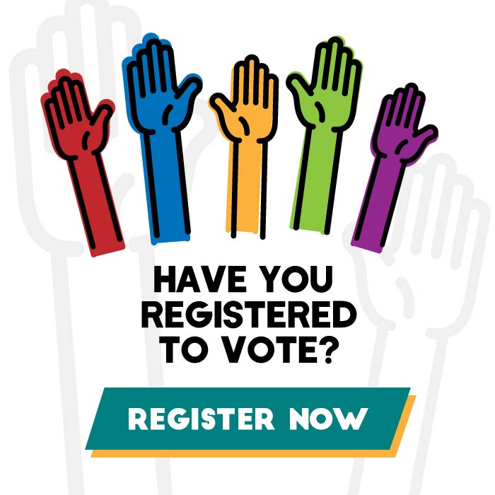 Register to Vote logo