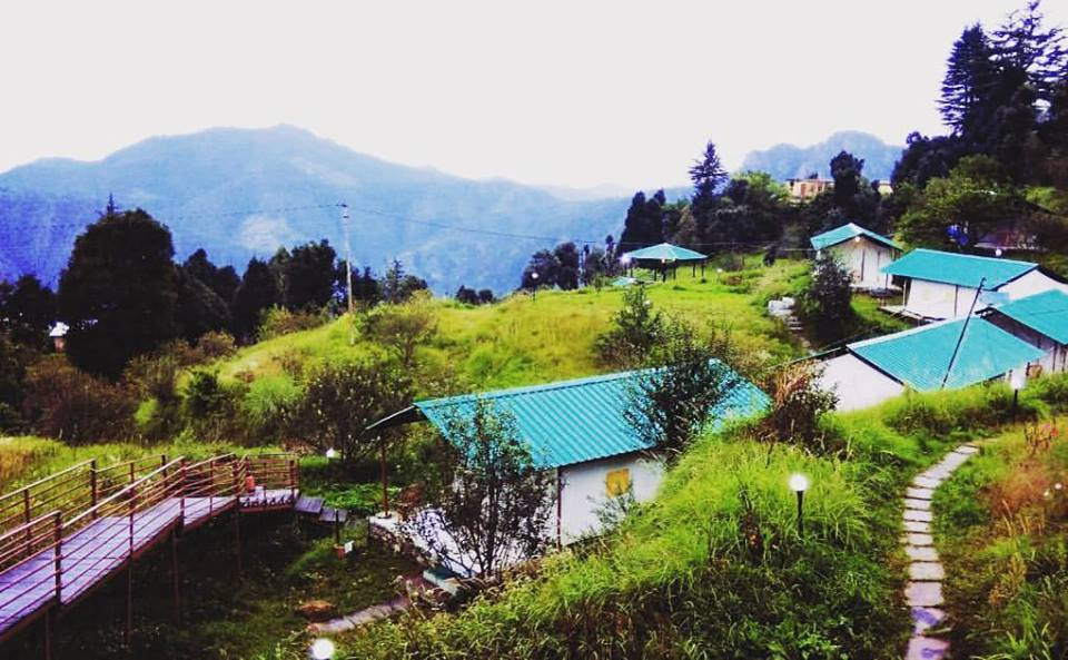 Camping site at Dhanaulti