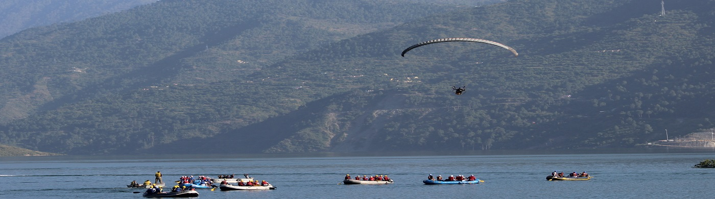 Water sports at Tehri