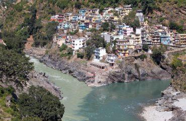 Sangam at Devprayag