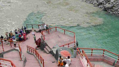 Bath at Ganga