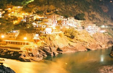 Devpryag night view