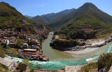 Ganga origin