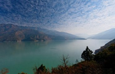 Tehri lake morning view