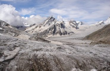 View of Khatling Glacier