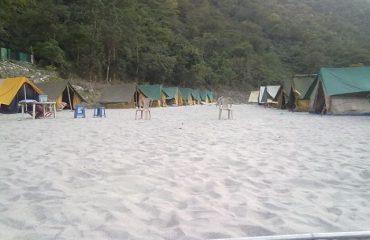 Camping near Shivpuri
