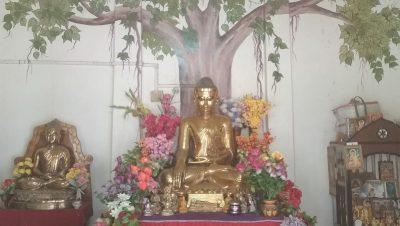 Ostodhatu idol of Lord Buddha at Udayan Buddha Bihar