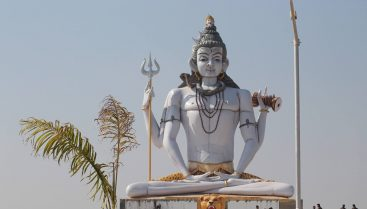 60 Ft High Idol of Lord Shiva