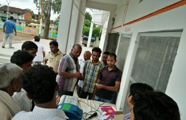 Demonstration of VVPAT