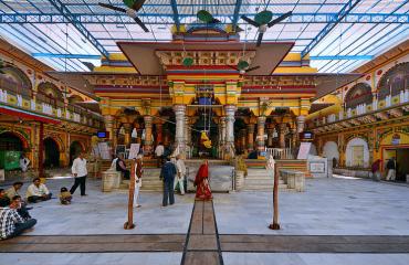 Dwarkadheesh-Temple Campus View
