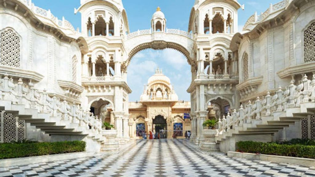 Image result for iskcon temple mathura