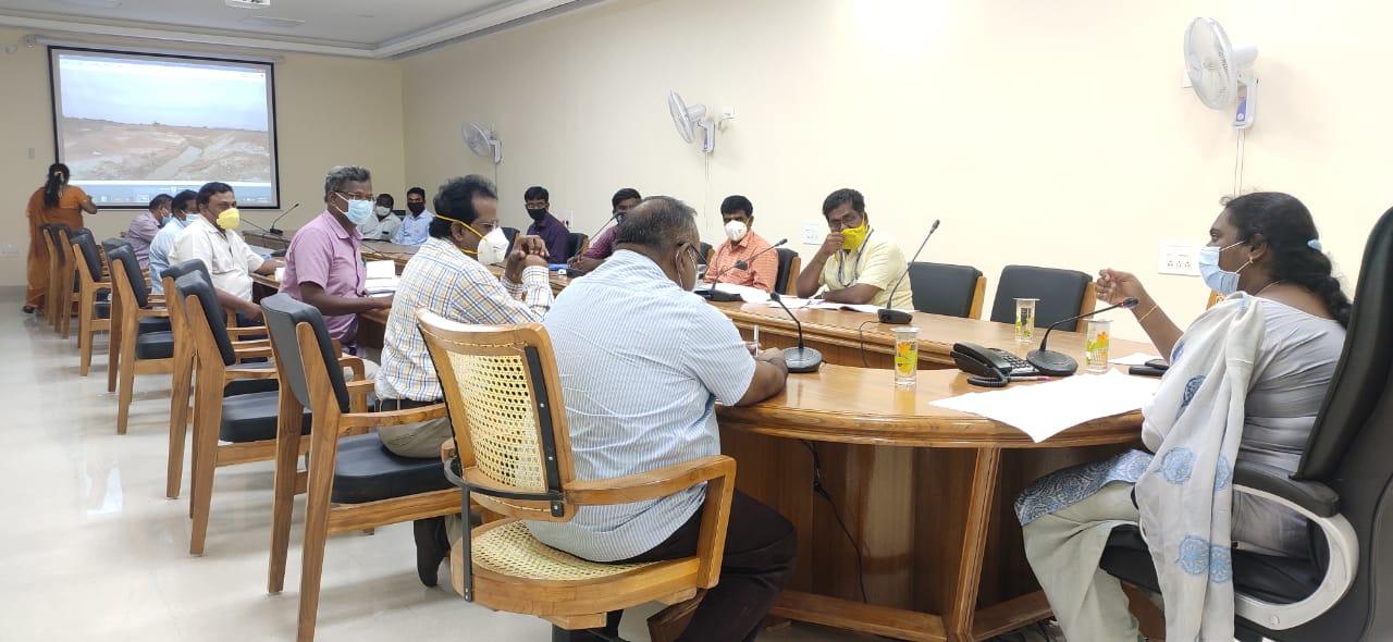Kudimaramathu Works Review Meeting 31/07/2020