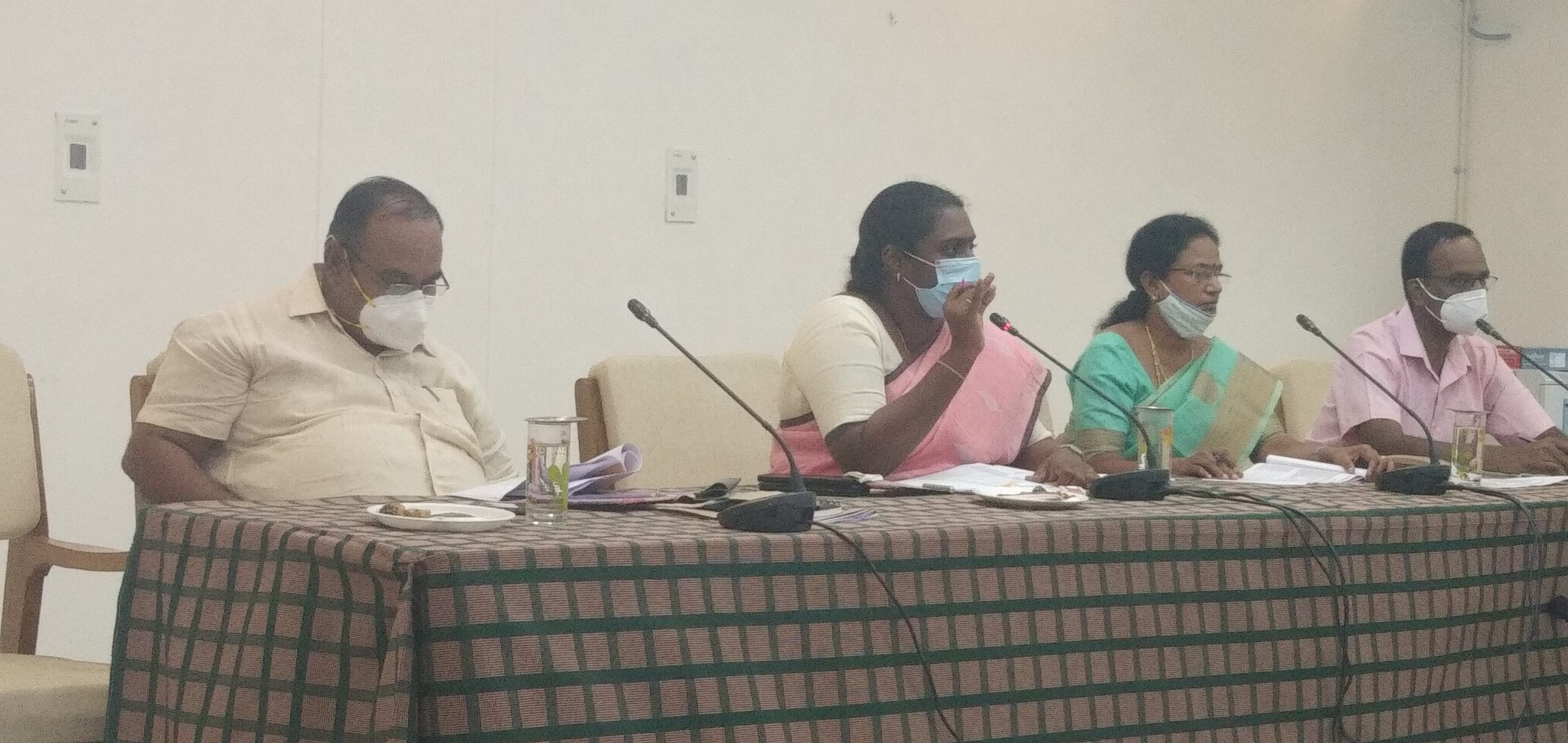 District Collector Conducted Review Meeting for IFHRMS 12/08/2020