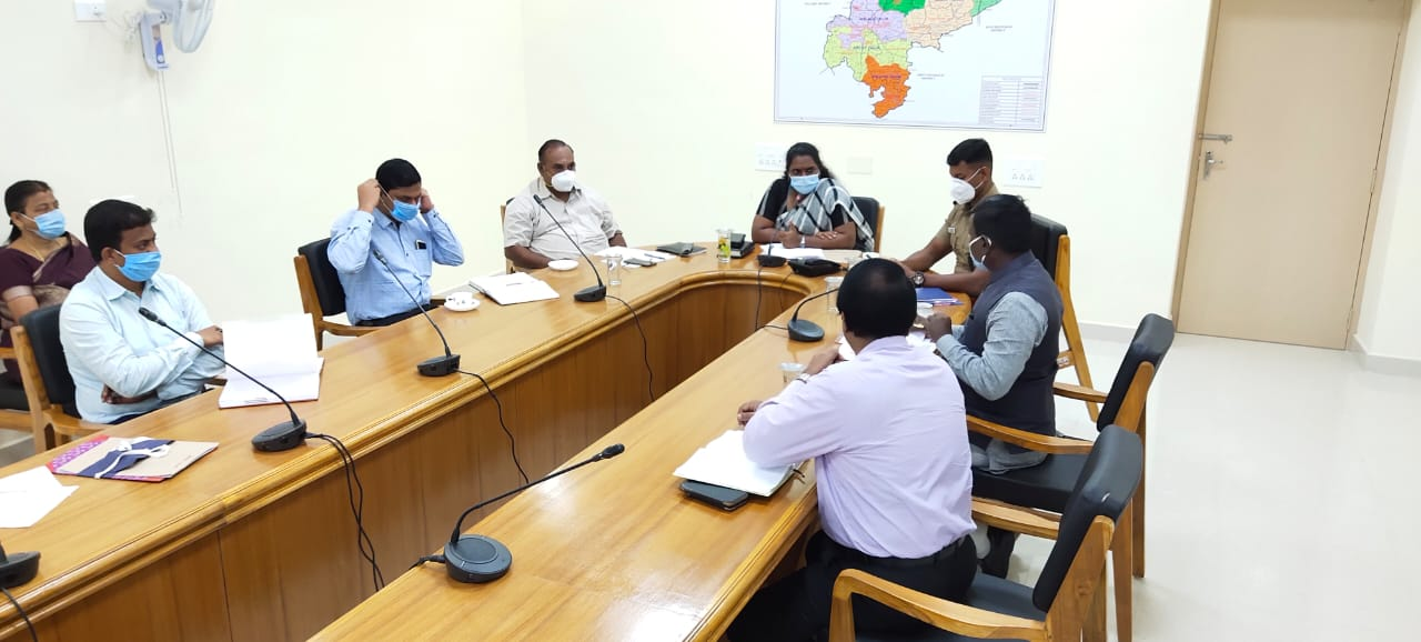 NEET Examination Centers Safety and Security Arrangements Meeting Reg. 07/09/2020