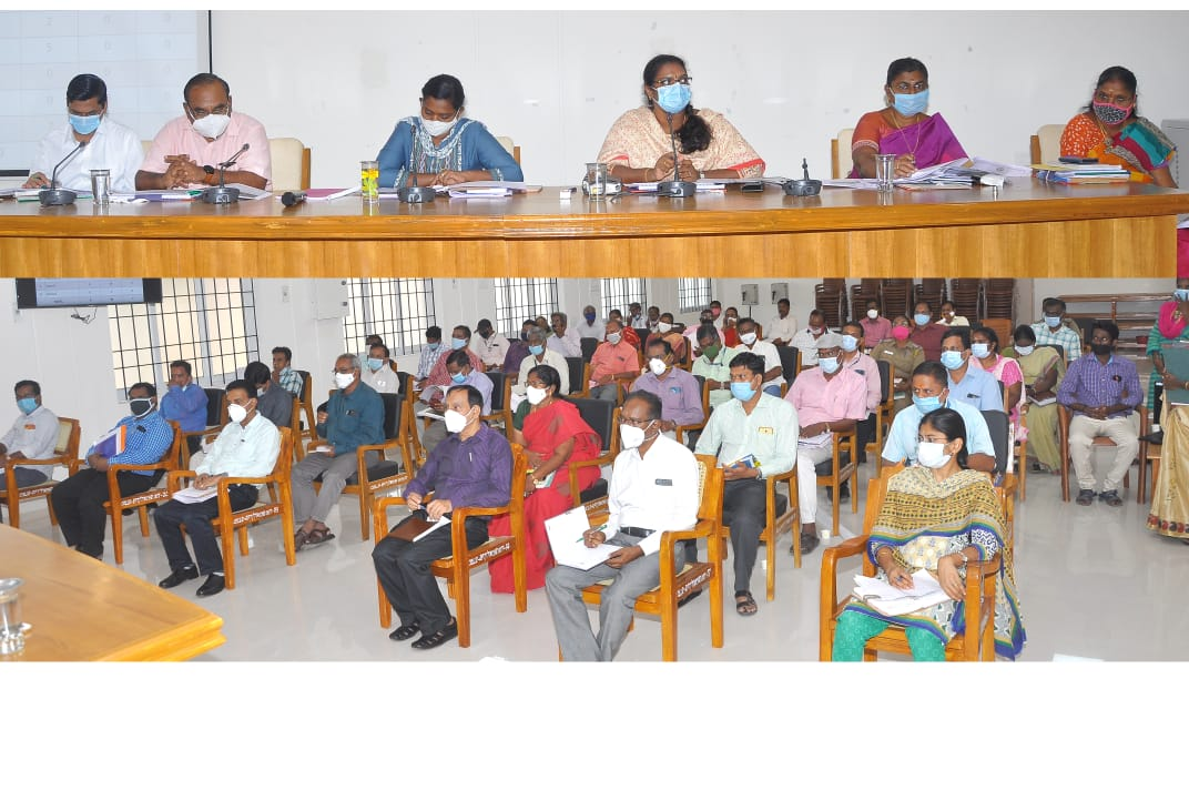 District Collector Conducts Monsoon Review Meeting 06/10/2020
